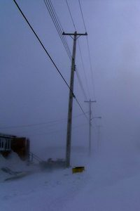Windchill: durch starke Winde wirken Tieftemperaturen noch eisiger.